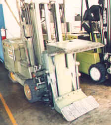 forklift safety engineering forklift with roll clamp accident prevention training